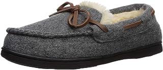 Dearfoams 女式羊毛软帮鞋,带系带拖鞋