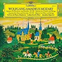 进口LP:莫扎特:单簧管五重奏/佩耶/双簧管四重奏/罗达.柯贺 Mozart:Clarinet Quintet/Oboe Quartet/Gervase De Peyer/Lothar Koch(LP)4795119