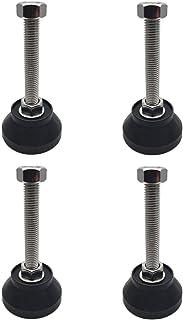 Addlike 橱柜水平脚可调节桌腿水平尺 D50xM12x120 橱柜家具腿 4 件套