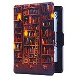 静读 适配全新kindle 2016版 (558元新款) 黑色底壳 纤薄彩绘款 图书馆