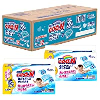 GOO.N大王 温和肌肤湿巾厕纸 替换装 840片(70片×12个)