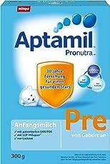 Aptamil 爱他美婴儿pre段奶粉Pronutra 初始包装 亲源配方 8盒装 (8 x 300 g)