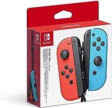 Nintendo 任天堂 Switch Joy-Con 游戏机,一对,霓虹红/霓虹蓝