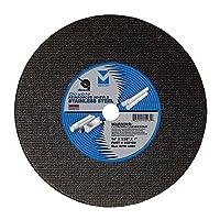 Mercer INDUSTRIES 602100低 horsepower 双人加固 CHOP SAW wheel ,全金属切割,10个装, X 3/ 81.3x 2.5cm