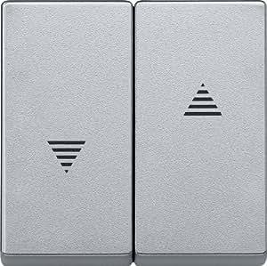 Merten 435560 摇杆,适用于滚筒快门开关和按钮、铝,系统 M