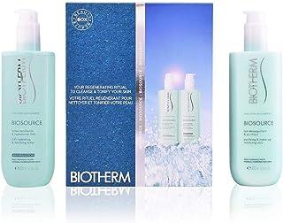 Biotherm 碧欧泉 Biosource 净化卸妆乳,24小时保湿爽肤水,400毫升