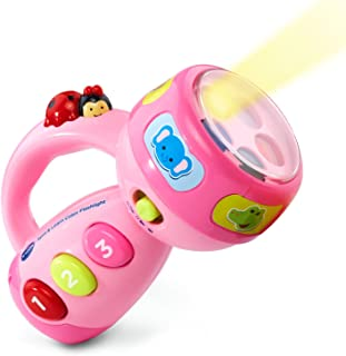 VTech Spin and Learn 彩色手電筒 粉紅色