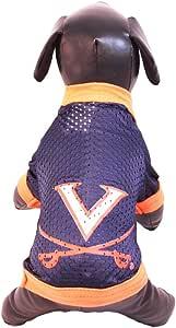 全明星狗 NCAA 弗吉尼亚骑士队运动网眼狗运动衫(球队颜色,XS 码)