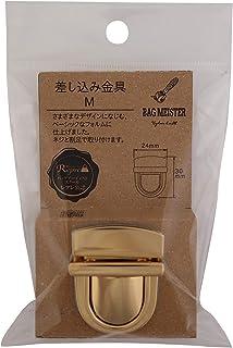KIYOHARA 手提箱 插入金属零件 M 金色 1套 BM04-16