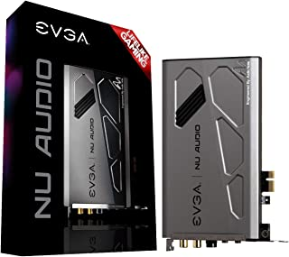 EVGA Nu声卡,712-P1-AN01-KR,栩栩如生的音频,PCIe,RGB LED,设计有音频笔记
