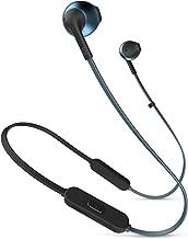 JBL TUNE205BT 藍牙耳機 帶麥克線控/入耳式藍色 JBLT205BTBLU