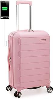 Traveler's Choice 不可破坏聚丙烯硬壳可扩展拉杆行李箱