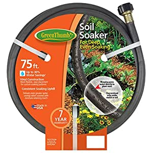 teknor-apex 1030–75soaker 软管,乙烯基,91cm 。 绿色 75-Feet