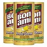 BonAmi 宝纳米 天然不伤手去污粉 400g*3(进口)(亚马逊自营商品, 由供应商配送)