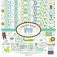 "Echo Park Collection Kit 12""X12""-Sweet Baby Boy"