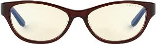 Gunnar Optiks JWL-07501 Jewel 电脑眼镜 - 阻挡蓝光、防眩光、*大程度减少数字眼部应变,栗色/琥珀色