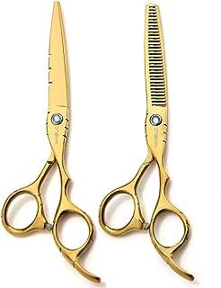 VANELC 理发剪套装6英寸(约15.2厘米),理发剪,专业理发师锋利理发剪和家用美发剪套装,用于理发造型的理发剪套装 2pcs