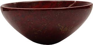 HARMONIZE 手工雕刻精神礼品 Reiki *水晶 Aventurine 石头碗能量发电机 Red (Jasper-1) RED GIFT POUCH CDR1007B