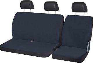 Lupex Shop 通用棉质座椅套适用于带座椅的卡车车型座椅套 - 蓝色