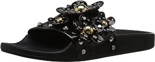 Marc Jacobs Daisy Studded Aqua Slide 女士凉鞋