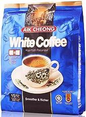 AIK CHEONG 益昌二合一无蔗糖白咖啡450g(马来西亚进口)