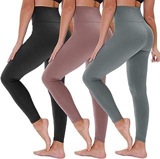YOLIX 高腰 7/8 打底裤 - 超柔软收腹 4 向弹力瑜伽裤