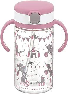 Aqulea 外出携带吸管水杯 R [対象] 7ヶ月 ~ 粉色 320ml