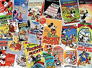 Ceaco Disney Mickey Mouse Vintage Collage海报拼图(1500 片)