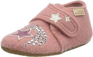 Living Kitzbühel Baby 女孩 婴儿魔术贴鞋 独角兽 & 星星 家居鞋