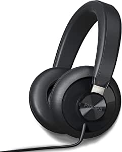 Philips SHP6000 HiFi 立体声有线耳机,高分辨率音频,深低音和卓越的舒适性耳塞式耳机