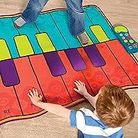 B.Toys 比乐 音乐钢琴毯 可折叠 儿童游戏跳舞毯 宝宝健身 亲子互动玩具 音乐兴趣培养 可双人玩 婴幼儿童益智玩具 礼物 3岁+ BX1506Z