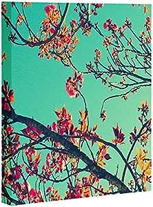 DENY Designs 14010-artca3 Summer Bloom by Shannon Clark Art Canvas