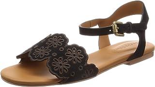 [SEE BY CHLOE] 脚踝绑带平底凉鞋 SB32101A