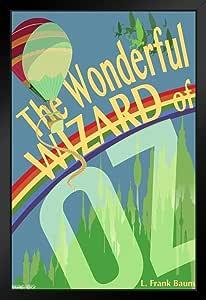 金字塔美国美妙巫师盎司L. Frank Baum 艺术印刷品 裱框海报 14x20 inches 99692