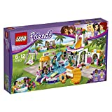 LEGO 乐高 LEGO Friends 好朋友系列 心湖城夏季游泳池 41313 6-12岁 积木玩具