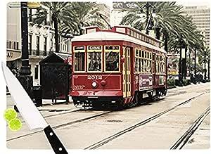 "KESS InHouse Sylvia 厨师""Canal Street Car Travel Urban""砧板,29.21 x 40.01 厘米,多色"