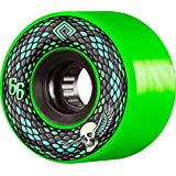 Powell-Peralta Snakes 66mm 75A 绿色滑板车轮