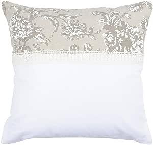 可爱的卡萨Mummy 靠枕 40 x 40 T Jouy 棉本色 40 x 40 厘米