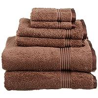 Superior 埃及棉6件套 毛巾套装 棕色
