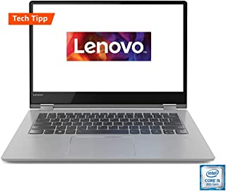 Lenovo 联想 Yoga 530 35.6 厘米(14.0 英寸全高清 IPS 触屏)超薄Convertible 笔记本电脑(英特尔酷睿 i5-8250U,8 GB 内存,512 GB 固态硬盘,英特尔UHD 显卡620,Windows 10 家庭版)黑色