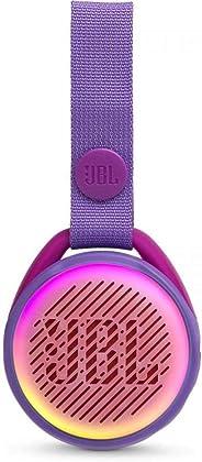 JBL JR POP – 便携式无线音箱带灯光功能 – 适合小音乐粉丝的有趣扬声器 – 紫色