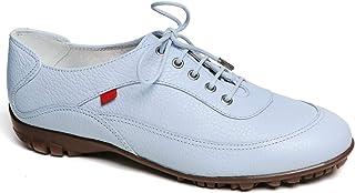 MARC JOSEPH NEW YORK 女士皮革巴西制造奢华轻质高尔夫鞋