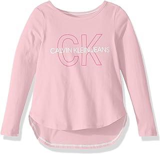 Calvin Klein 卡尔文·克莱恩 女孩款大号徽标T恤