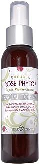 *玫瑰水 Phyto3 面部爽肤水喷雾 4 盎司