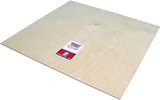 Midwest Products 胶合板 1/8 英寸 X 12 英寸 X 12 英寸 胶合板