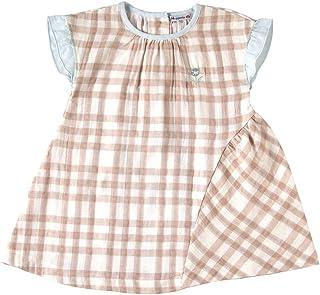 Hoppetta 格子连衣裙 [対象] 12ヶ月 ~ 18ヶ月 米色 80