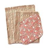 华布 布巾布 布餐巾套装C(鸟橘色支架、L、M)