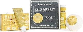 Barr Co Essentials 套装 - 每个香皂、沐浴炸弹、迷你手霜和唇膏 防臭木