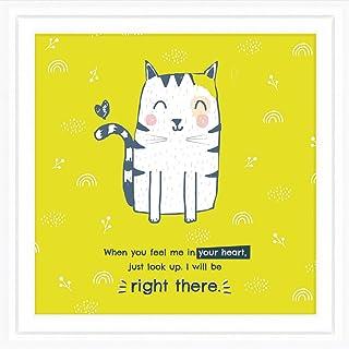 猫咪纪念礼物 | 17.78cm x 17.78cm 猫咪纪念礼物 可直接悬挂 | 丢失猫咪礼物 框架设计 | 送给失去宠物的人的包装礼物 | 为失去猫咪的纪念礼物 & 令人欣慰的猫咪礼物
