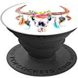 PopSockets: Expanding Stand and Grip5 Bull Feathers